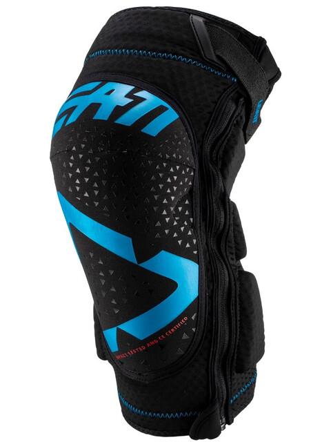 Leatt 3DF 5.0 Zip Knee Guards Fuel/Black